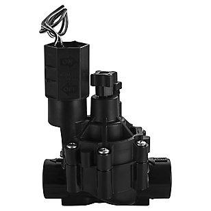 Válvula solenoide 3/4'' con control de flujo