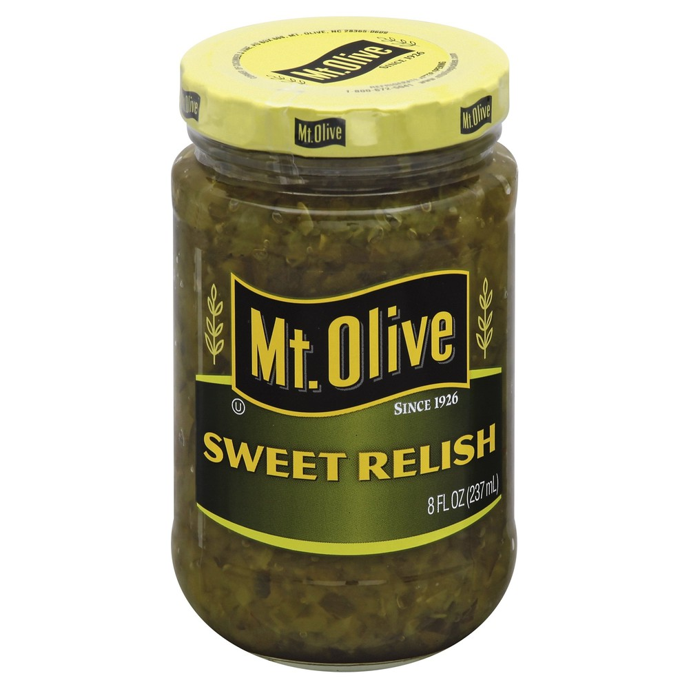 Sweet Pickle Relish Mt Olive 8 Oz Delivery Cornershop