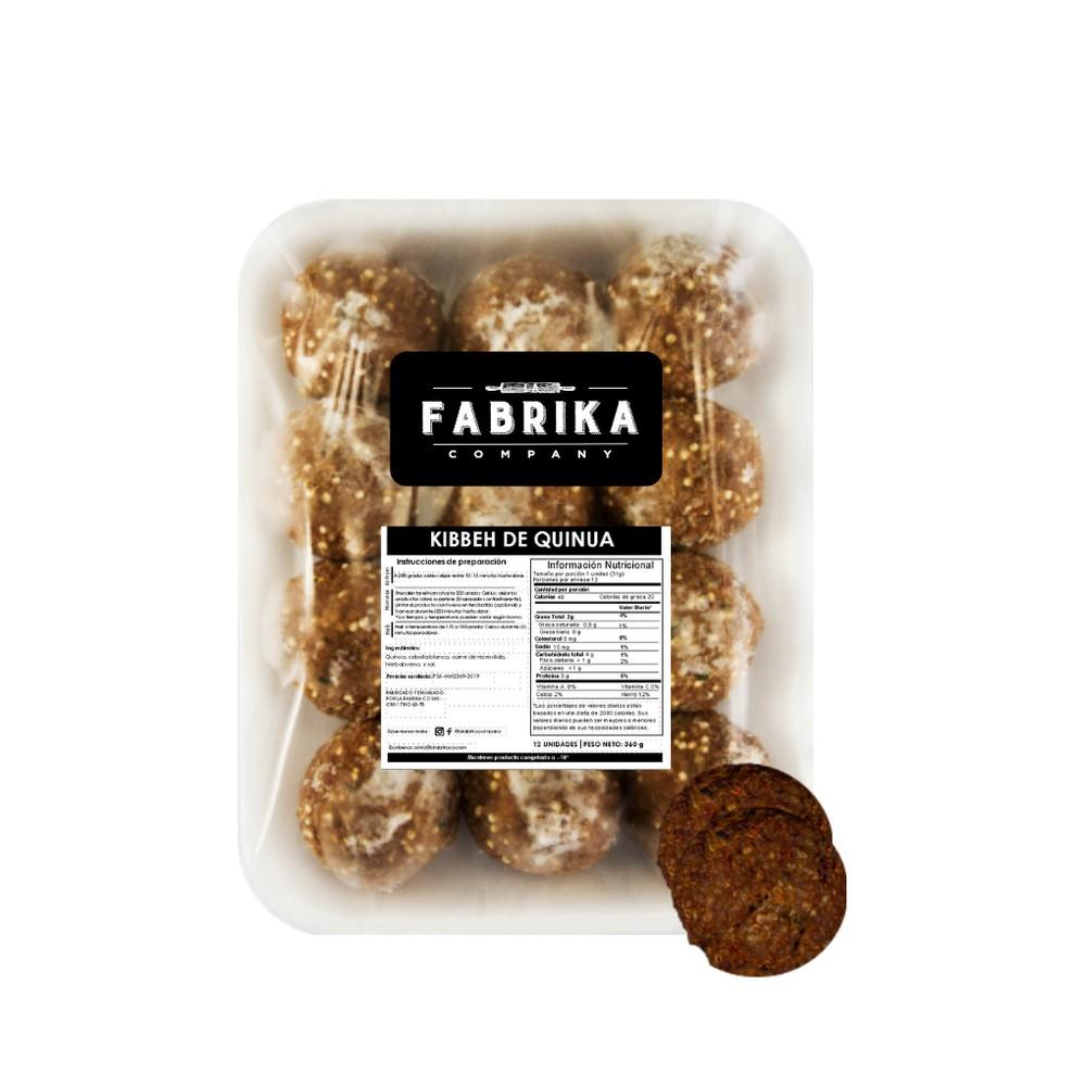 Kibbeh de quinoa Bolsa de 360 gramos