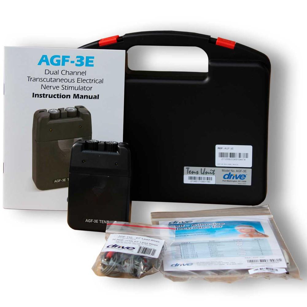 Tens drive agf-3e para tratamiento del dolor