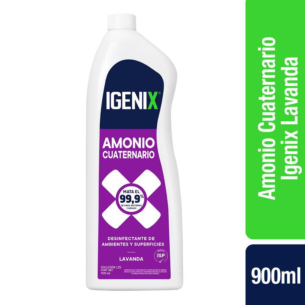 Amonio cuaternario Botella de 900 ml