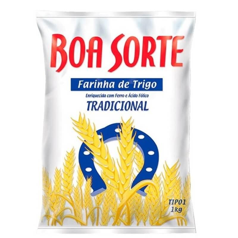 Farinha de trigo tradicional