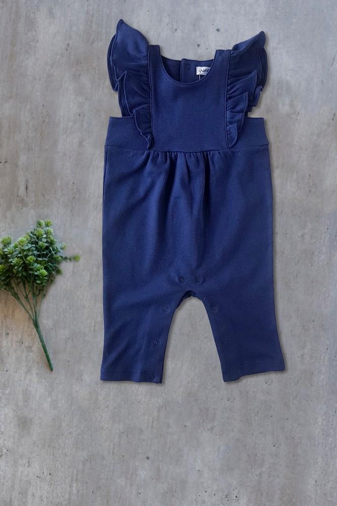 Jardinera kiara azul niña Talla 6-9 meses