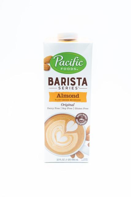 Barista blend almond milk