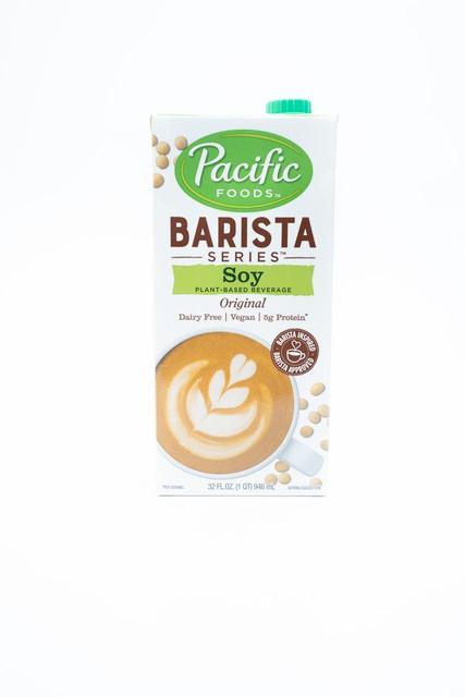 Barista blend soy milk