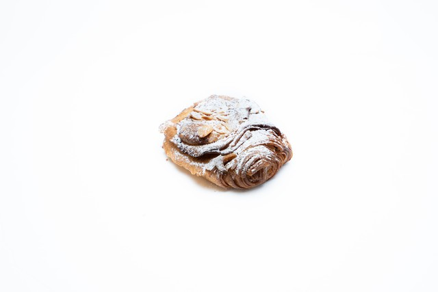 Rum chocolate almond croissant