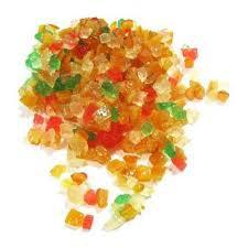 Frutas cristalizadas a granel
