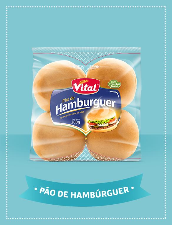 Pão hamburguer gergelim