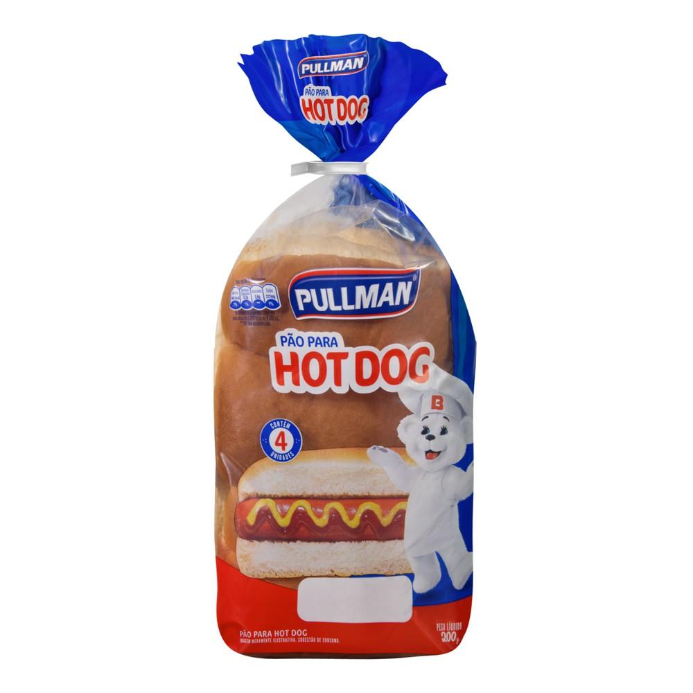 Pão hot dog