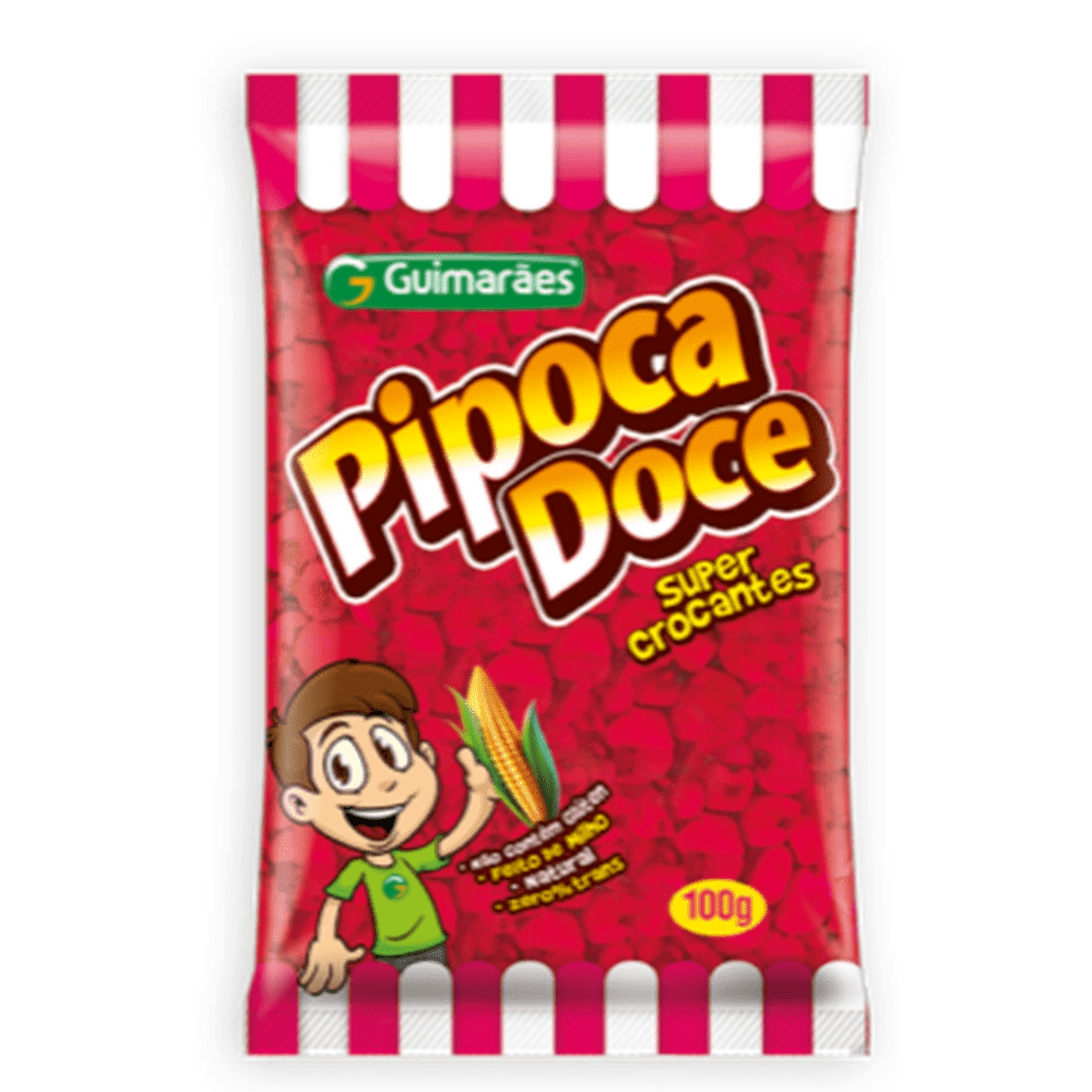 Pipoca doce