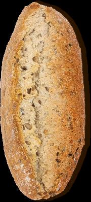 Pão mini baguete cereales