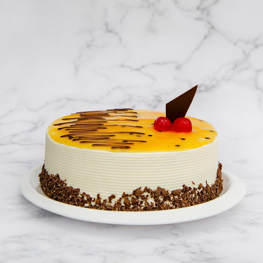 Torta maracuyá  (25 - 30 porciones) 1 lb