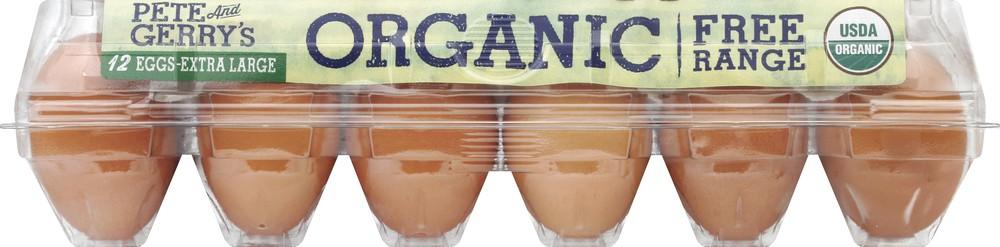 Organic Extra Large Eggs 12 eggs