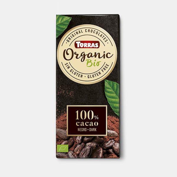 Chocolate 100% cacao orgánico 100g