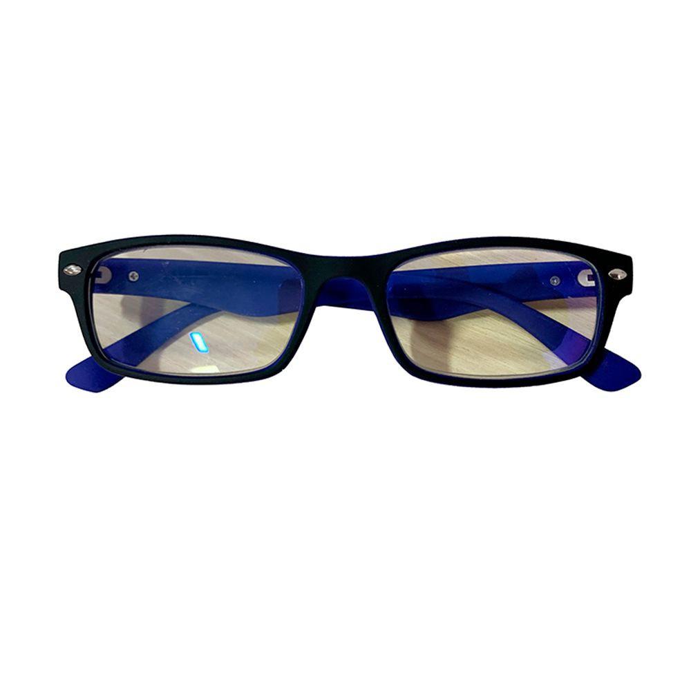 Lentes ópticos negro con azul - grado 2,5 Unidad