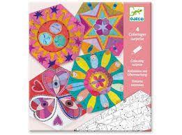 Set para Colorear-Constellation Mandalas +6 años