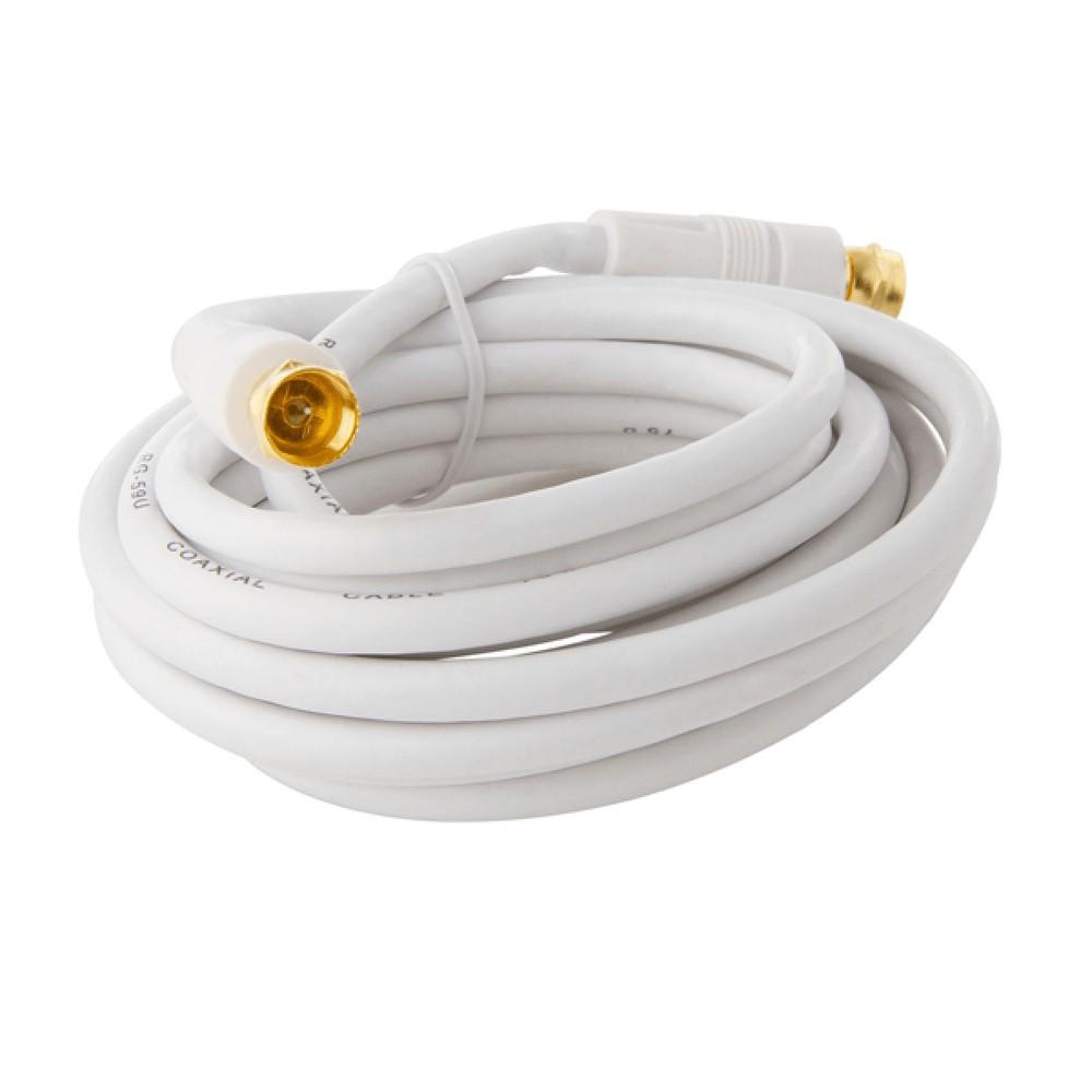 Cable Coaxial para TV atornillable