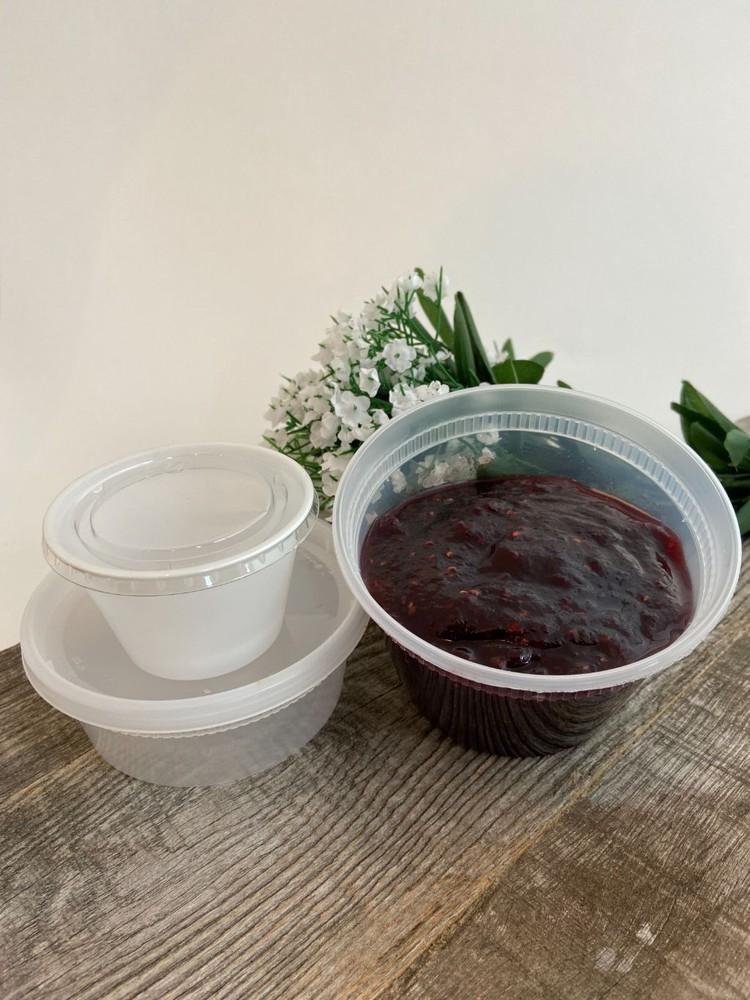 Cranberry raspberry relish (small) 5.5 oz