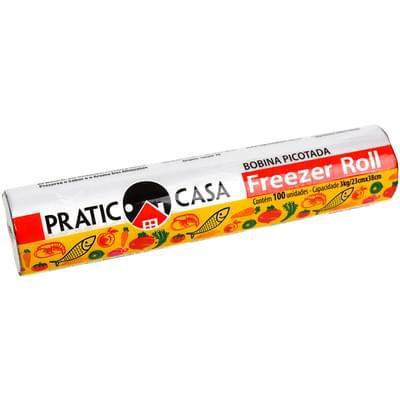 Saco prástico Freezer Roll