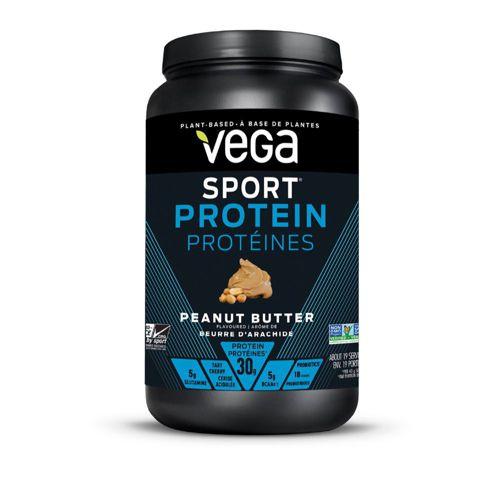 Sport protein powder, peanut butter