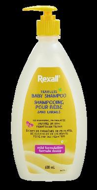 Rexall Baby Shampoo Tearless
