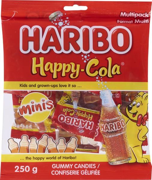 Minis happy cola gummies