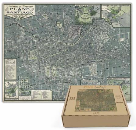Puzzle santiago de 1939 - 500 piezas