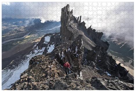 Puzzle cerro castillo - 1000 piezas
