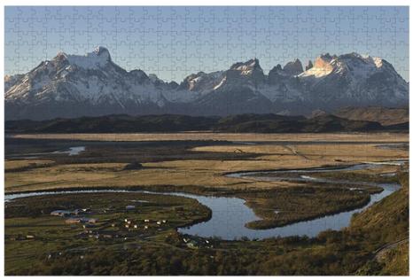 Puzzle torres del paine - 1000 piezas