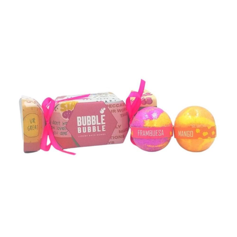 Pack bombas de baño candy tropical
