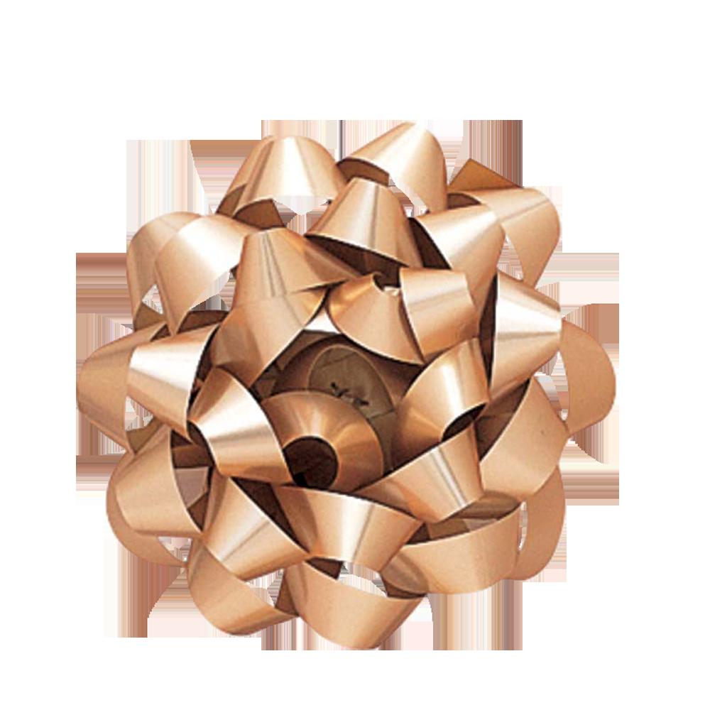 Cinta regalo mediana metalizada - dorada