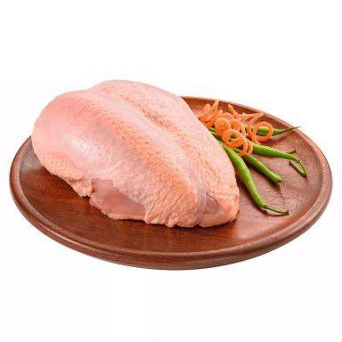 Peito de frango com osso