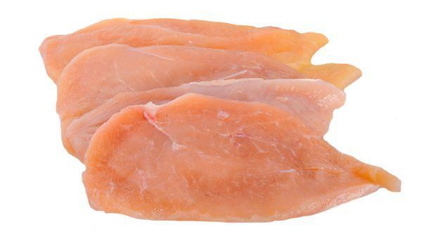 Filé de frango resfriado