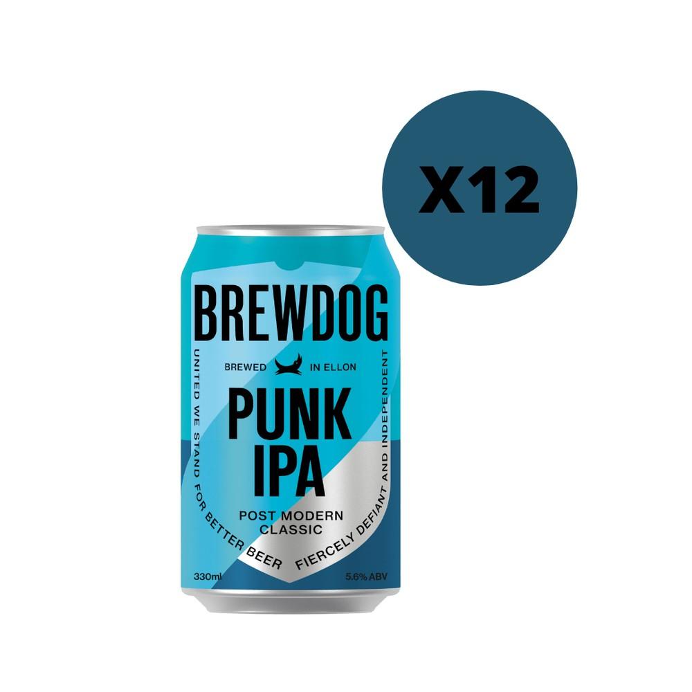 Cerveza Punk IPA lata 12 x 330 ml c/u