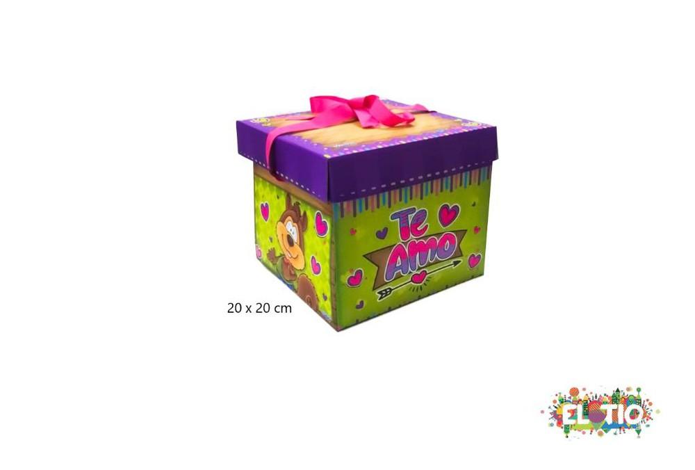 Caja de regalo sorpresa con diseño 1 unidad