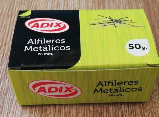 Alfiler metálico 26 mm 50 g cod. a202004