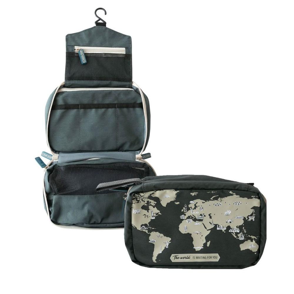 Necessaire de viaje travel - the world is...