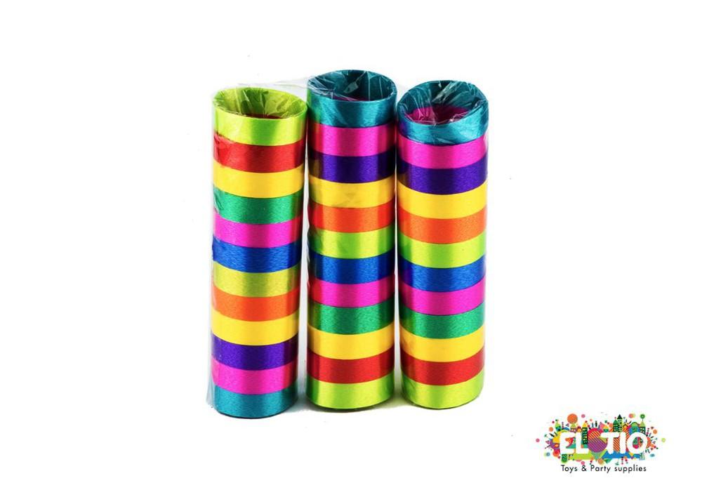 Serpertina satinada multicolor 3 unidades