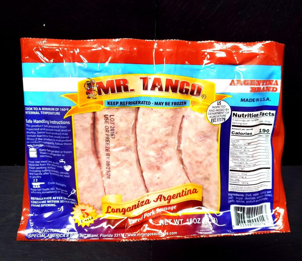 Cured Pork Sausage
