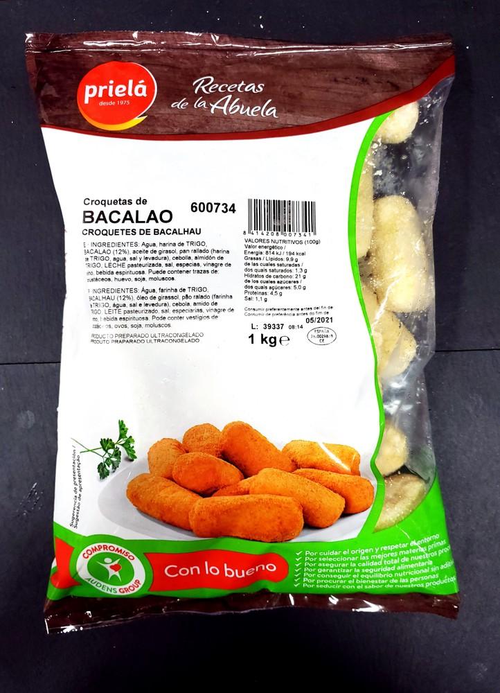 Croquetas Bacalao Priela (from spain)
