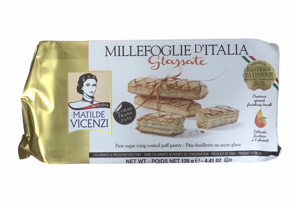 Millefoglie d'Italia glazed cookies