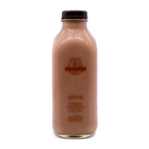Golden Guernsey chocolate milk