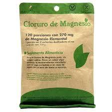 Cloruro de magnesio 120 porciones