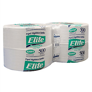 Papel higiénico 1 hoja 500 metros, Elite