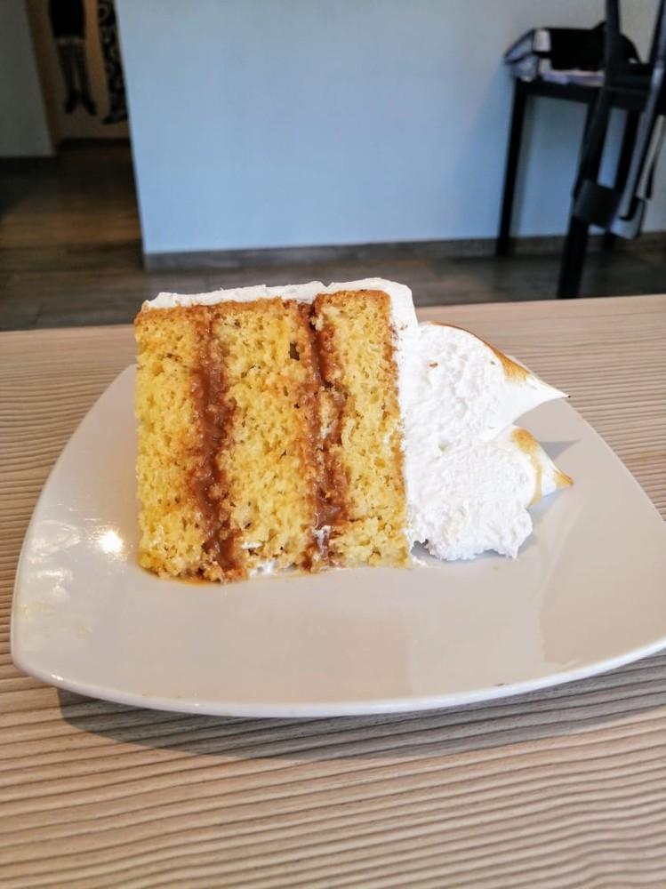 Trozo torta 4 leches, Libre de Gluten individual 260 gramos aprox