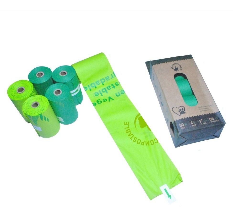 Bolsas biodegradables 100 g