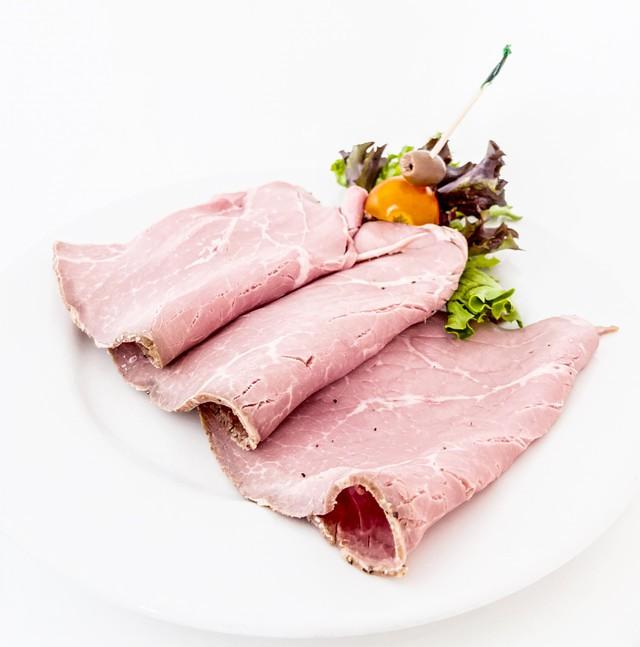 Roast beef 1lb, minimum size 0.25lb