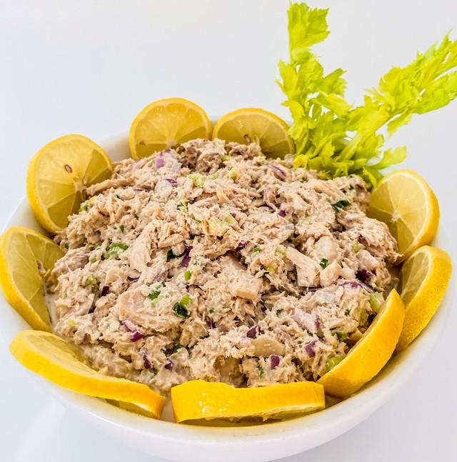 Albacore tuna salad 1lb, minimum size 0.25lb
