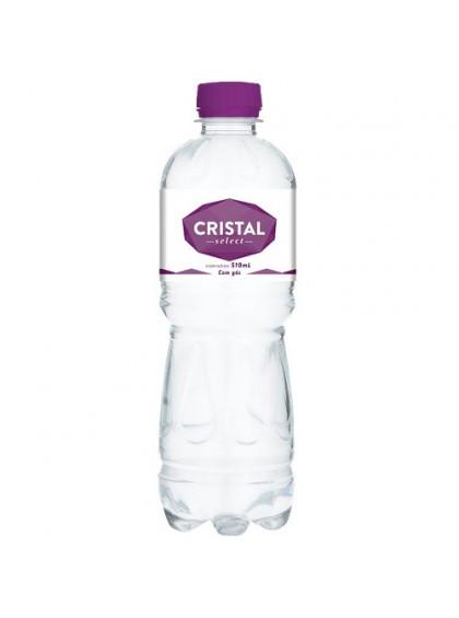 Água mineral premium com gás