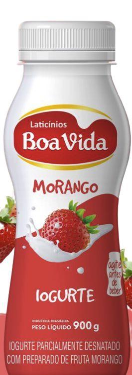 Iogurte sabor morango